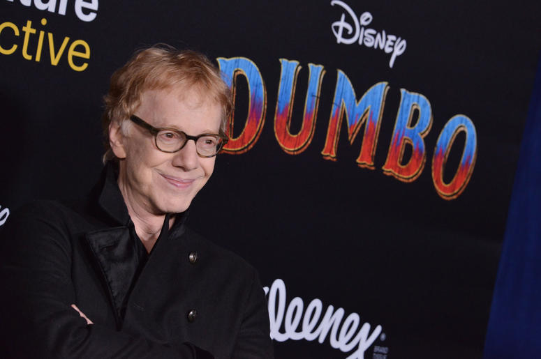 """Danny Elfman arrives at Disney's """"Dumbo"""" Los Angeles Premiere held at the El Capitan Theatre in Hollywood, CA on Monday, March 11, 2019."""