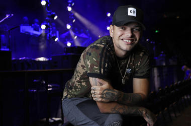 country singer Kane Brown poses in Nashville, Tenn