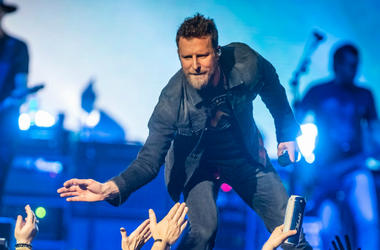 Dierks Bentley performs at Bridgestone Arena Friday, February 22, 2019
