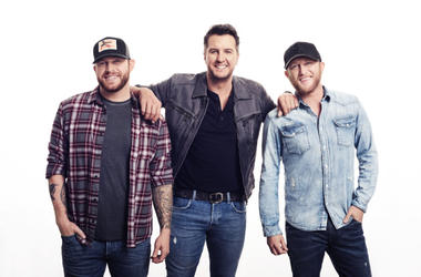Luke Bryan Cole Swindell and Jon Langston Sunset Repeat Tour