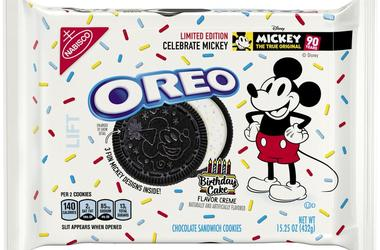 Mickey Mouse Gets Created Into Oreo Cookies for 90th Birthday