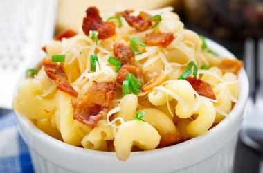bacon mac n cheese