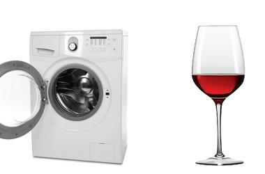 washer and wine