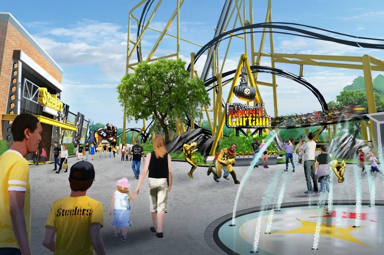 Steelers Country Kennywood Park