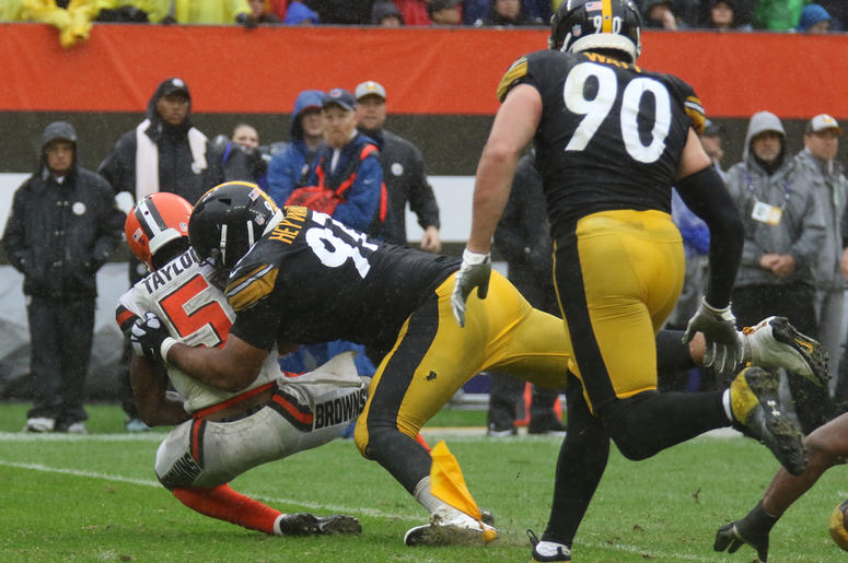 Pittsburgh Steelers at Cleveland Browns