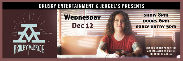 Ashley McBryde at Jergel's