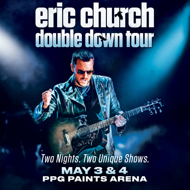 eric church announces pittsburgh concerts 2019 ppg paints arena y108. Black Bedroom Furniture Sets. Home Design Ideas