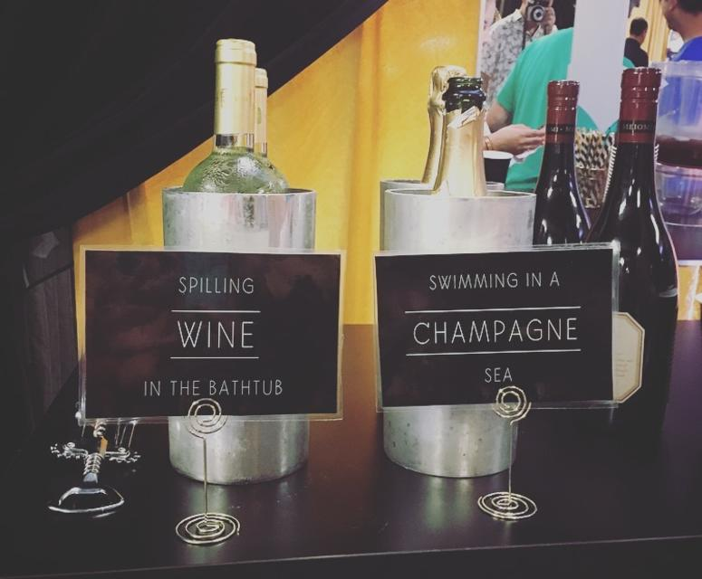 Taylor Swift Backstage - Drinks