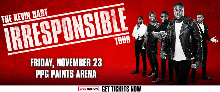 Kevin Hart at PPG Paints Arena