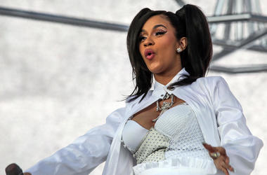 Cardi B performs at the Coachella Valley Music and Arts Festival