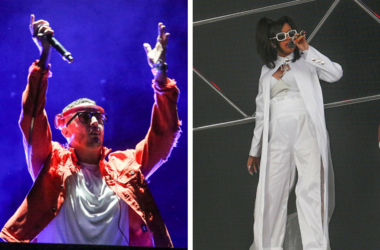 Apr 22, 2017; Indio, CA, USA; DJ Snake performs on the Outdoor Theatreduring the Coachella Valley Music and Arts Festival at Empire Polo Club. / Apr 15, 2018; Indio, CA, USA; Cardi B performs at the Coachella Valley Music and Arts Festival at Empire Polo