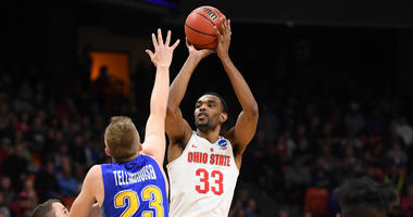 Ohio State holds off 12-seed South Dakota State, 81-73