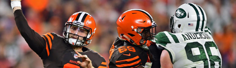 Browns tie game on Hyde TD, Baker special