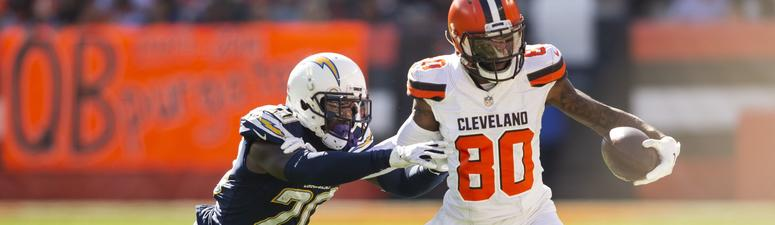 Jarvis Landry Cleveland Browns Los Angeles Chargers