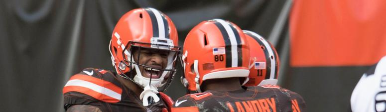 Photos from the Browns 28-16 win over the Falcons