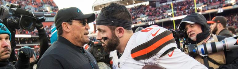 Photos from the Browns 26-20 win over the Panthers