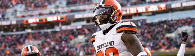 Browns keep playoff hopes alive with win over Panthers