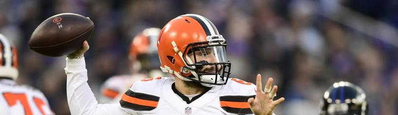 Baker Mayfield appears on Late Late Show with James Corden