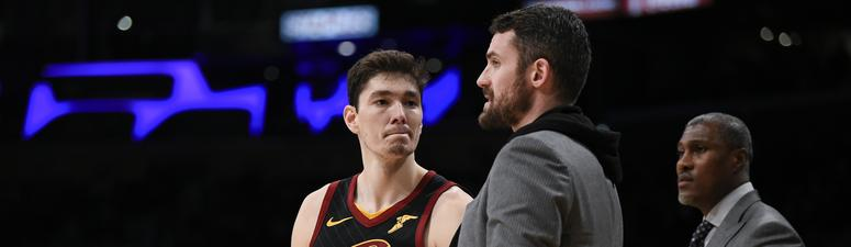 Chris Fedor: Cavs are getting calls about Kevin Love, thinks a trade is more of a possibility in the offseason