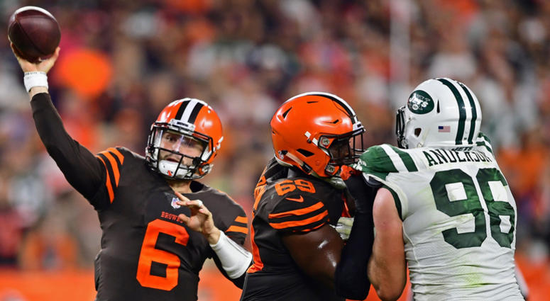Browns officially name Mayfield starting QB