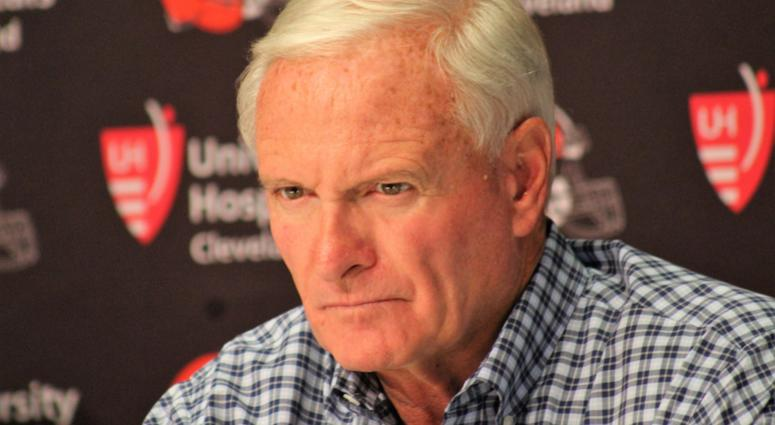 Jimmy Haslam Cleveland Browns owner Hue Jackson fired