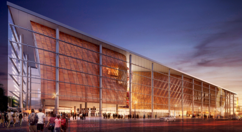 An artists rendering of the Quicken Loans Arena transformation currently underway and slated to be completed by October 2019.