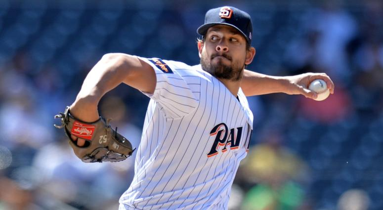 Padres' Brad Hand traded to Indians in blockbuster deal