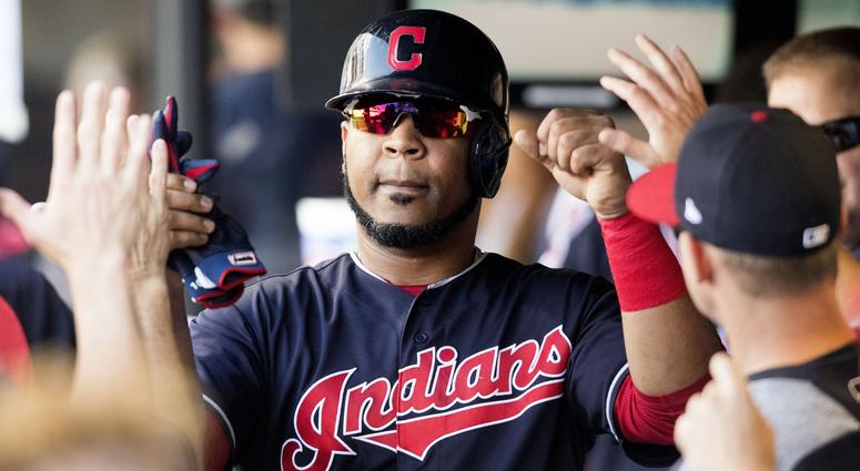 Mariners trade Carlos Santana to Indians for slugger Edwin Encarnacion