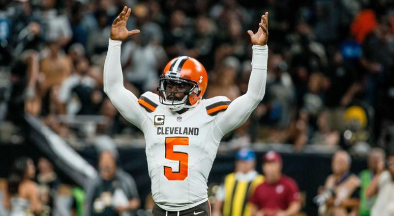 Mayfield leads Browns to 1st win since December 2016