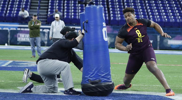 NFL Prospects Dazzle at Scouting Combine
