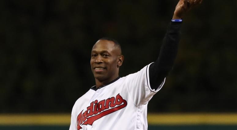 Cleveland Indians former player Kenny Lofton