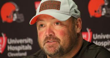 Freddie Kitchens Cleveland Browns offensive coordinator