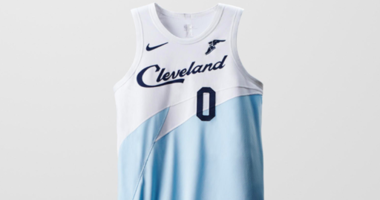 The newest Cavs' jersey