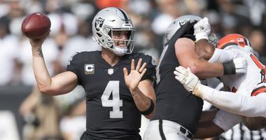 Derek Carr Oakland Raiders Cleveland Browns
