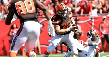 NFL officials fail to protect Baker Mayfield after helmet to helmet hit