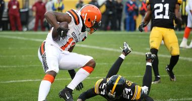 Antonio Callaway Cleveland Browns touchdown against Pittsburgh Steelers