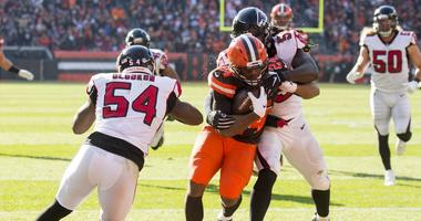 Behind Baker Mayfield and Nick Chubb, Browns fly by Falcons 28-16