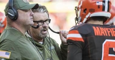 Gregg Williams not thinking about earning full-time head coach job with Browns