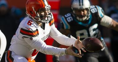 Browns hand Panthers 5th straight loss, clinch winning record at home with 26-20 win