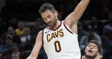 Kevin Love, Ante Zizic double-doubles lead Cavs to 111-98 win over Suns
