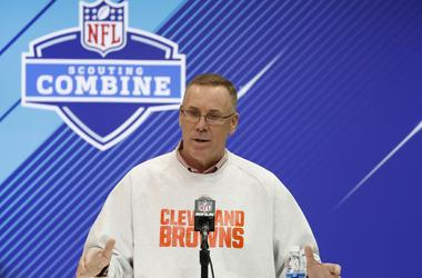 Cleveland Browns general manager John Dorsey