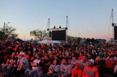 Browns Draft Party