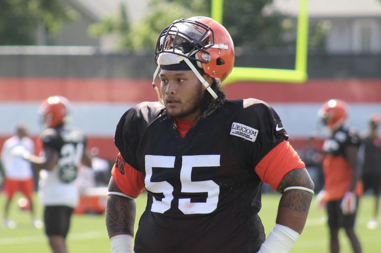 Browns defensive tackle Danny Shelton
