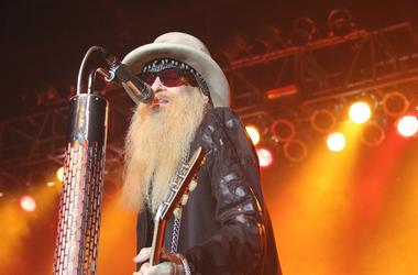 Billy Gibbons of ZZ Top