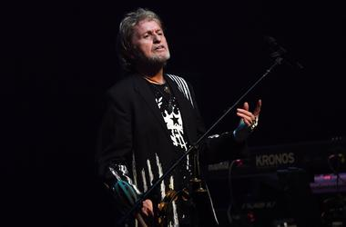 Jon Anderson of YES performs