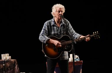 Recording artist Graham Nash