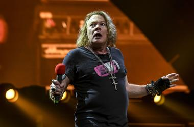 Axl Rose performs