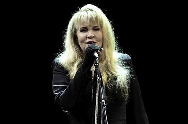 Stevie Nicks performs