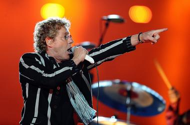 Roger Daltry and The Who perform