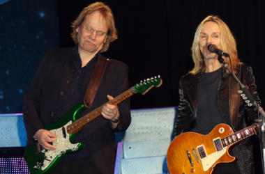 "James ""JY"" Young, Tommy Shaw, Styx performing at the Renegades In The Fast Lane"" Exclusively At The Venetian Las Vegas For The Second Consecutive Year Venetian Showroom"